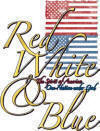 Red, White and Blue Patriotic Christian Heat Transfers