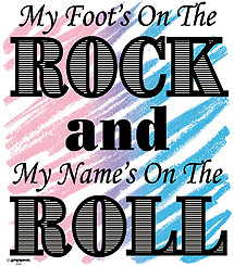 Foot on the Rock & Name on the Roll T-Shirt