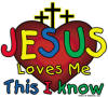 Jesus Loves Me, This I Know Christian T-Shirt