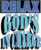 Relax God's in Charge Christian Shirt