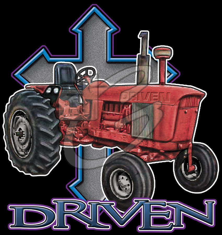 Driven (Tractor) - Christian T-shirt