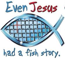 Fish Story Christian T-Shirt