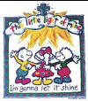 Youth and Toddler Christian Shirt _ This Little Light of Mine