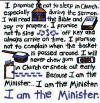 Christian hoodies - I am the Minister