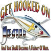 Hooked on Jesus Christian Heat Transfers