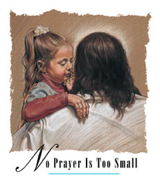 No Prayer too Small Christian T-Shirt